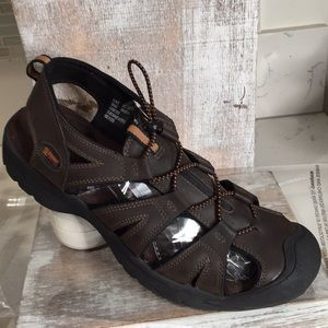 Other - Mens leather sandals/ sport shoes by Alpine Design